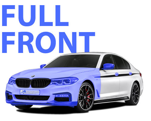 Full Front Paint Protection Film Package